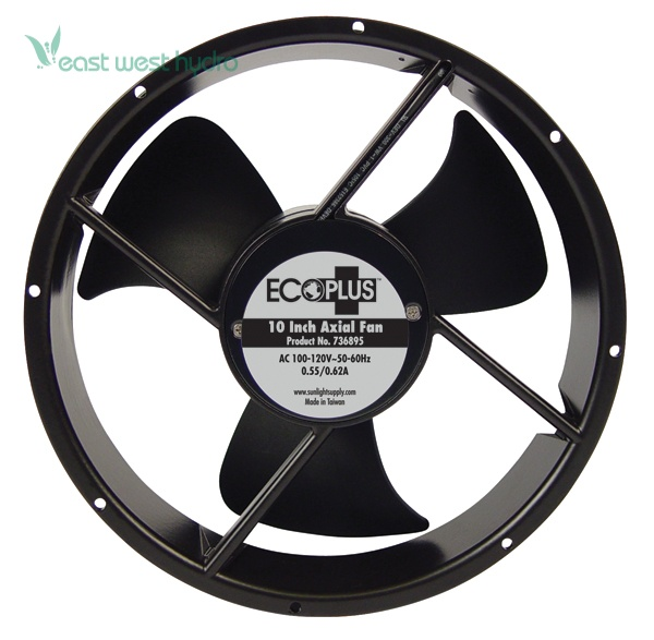 Ecoplus Axial Fans : Ecoplus quot axial fan w cord cfm eastwesthydro