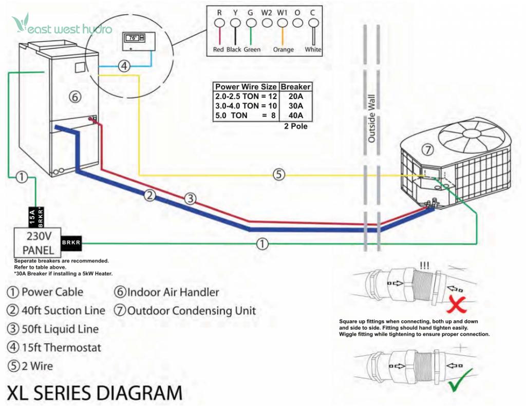 Excel Air Xl Series 2 5 Ton Air Conditioner Excelxl25