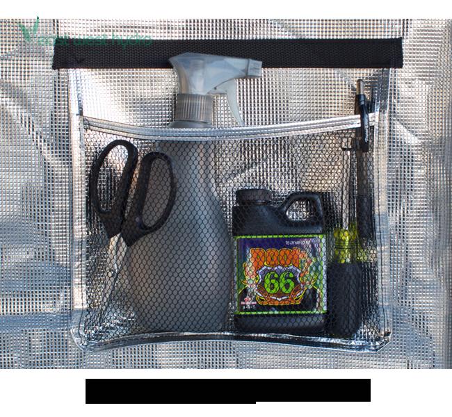 Model GGTLT24 & Gorilla Grow Tent - 2u0027x4u0027x6u00277