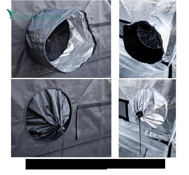 Model GGTLT24  sc 1 st  EastWestHydro.com & Gorilla Grow Tent - 2u0027x4u0027x6u00277