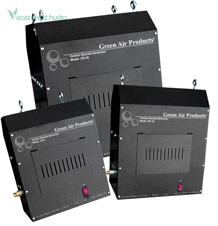 Green Air Products - (CD-36LP) CO2 Generator Propane (703450)