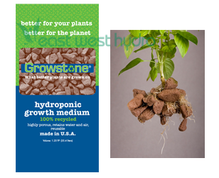 Happy Earth Apparel >> Growstones - Growstone 1.25 Cu Ft (714230)   EastWestHydro