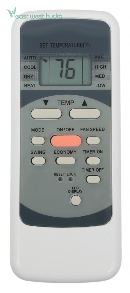 Ideal-Air - Dual Hose Portable Air Conditioner 14,000 BTU (700825)