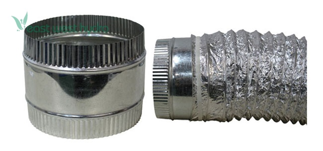 8 Air Duct : Ideal air duct coupler flex inch