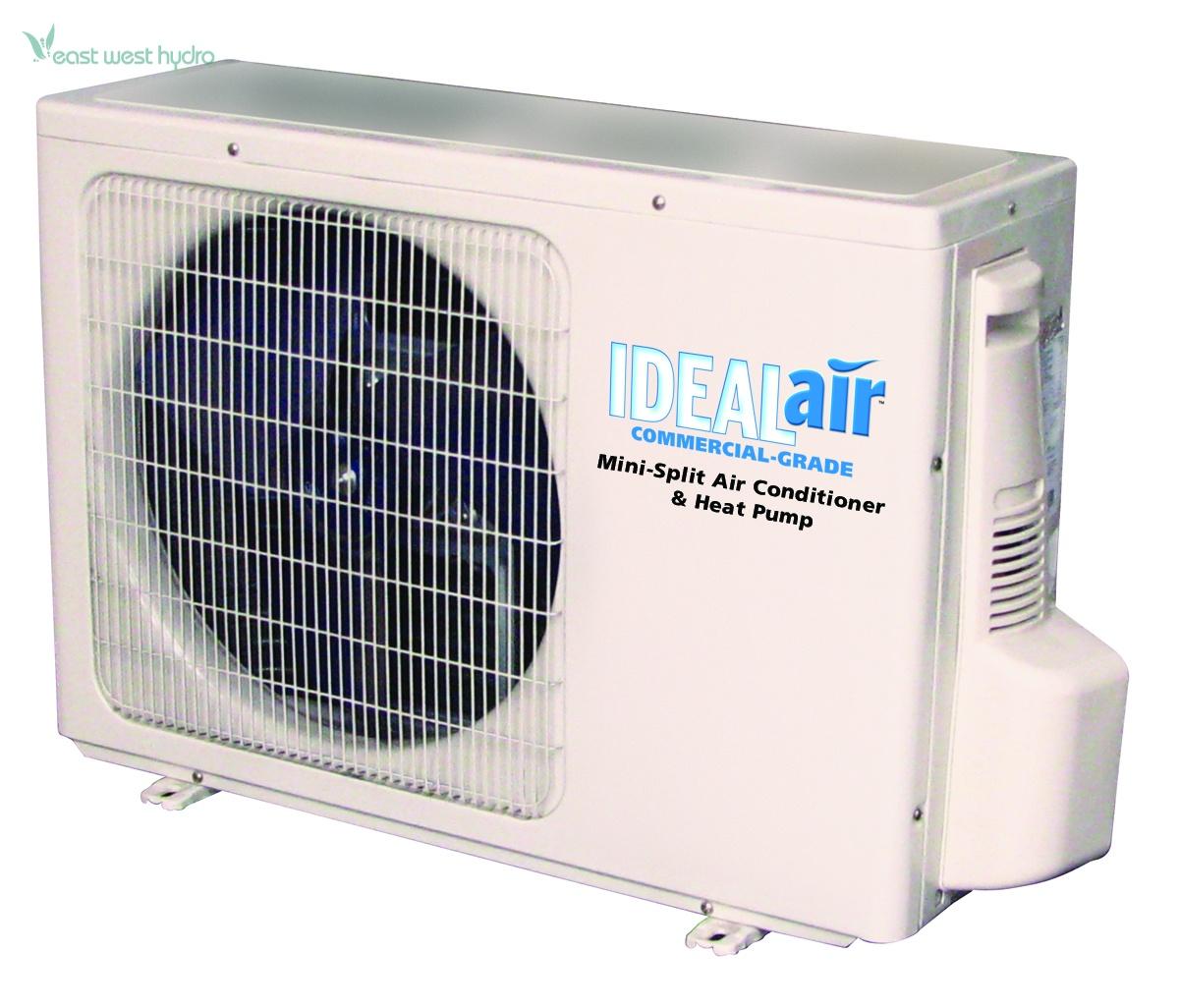 Ideal Air Mini Split 12000 BTU 13 SEER (700485) EastWestHydro #086AC3