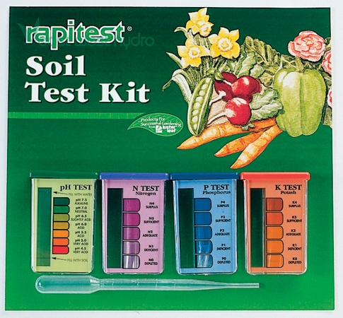 soil ph test kit instructions