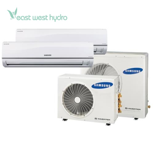Small Heating And Cooling Units : Samsung multi zone btu mini split air conditioner