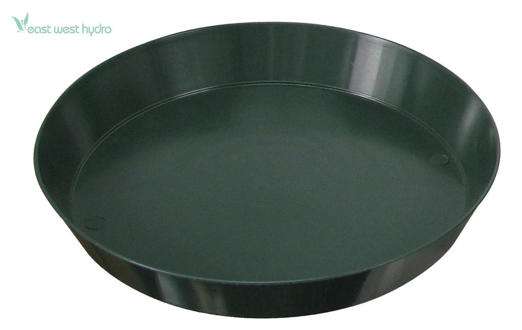 Sunlight Supply 12 Quot Green Premium Plastic Saucer 48 Case