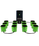 Oxygen Pot - 12 Site Analog XL Super Flow Hydroponic Grow System (OPS12SFS)