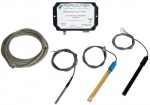 Agrowtek - Grow Control Hydro Sensor Kit w/ Probes (pH/EC/Temp) (703120)