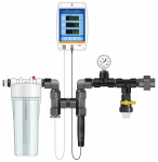 Dosatron Nutrient Delivery System - EC (PPM) / pH / Temp Monitor Kit (709012)