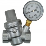 Dosatron Pressure Regulator w/ Gauge - 3/4 in (FPT x FPT) (709018)