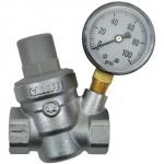 Dosatron Pressure Regulator w/ Gauge - 3/4 in (FPT x FPT) (709018)