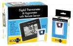 EcoPlus - Wireless Therm & Hygrom W/Remote (716555)