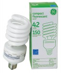 GE Compact Fluorescent 42W/ 2700K soft white compact fluorescent bulb hydro