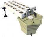 General Hydroponics - AeroFlo 18 Unit Aeroponics System