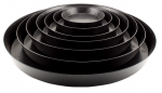 Gro Pro Garden Products - Black Saucer 6in (724930)