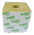 "Grodan - Hugo 6 X 6 X 5.8"" Hole (1Ea = 48 Blocks) (713085)"