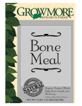 Grow More Hydroponics - Grow More Bone Meal 15lb (721820)