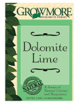 Grow More Hydroponics - Grow More Dolomite Lime 4lb (721845)