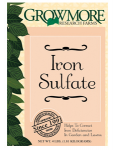 Grow More Hydroponics - Grow More Iron Sulfate 15lb (721840)