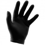 Grower's Edge - Black Powder Free Nitrile Gloves 6 mil - Small (744409)