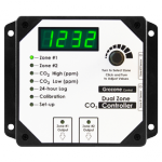 Grozone - CO2D 0-5000 PPM Dual Zone CO2 Controller (780113)