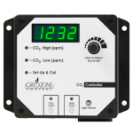 Grozone - CO2R 0-5000 PPM CO2 Controller with AUX Output and High Temp (780112)