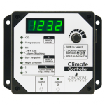 Grozone - HTC Climate Controller (Temp, RH, & CO2) Two Outputs w/ Digital Displa