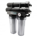 Ideal H2O Premium 3 Stage RO System w/ Upgraded Catalytic Carbon Pre Filter + PS