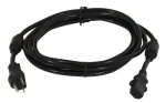 Sunlight Supply - 240 Volt Smart Volt Cord w/ 2 Molded Ferrites - 12 ft (903089)