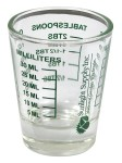 Sunlight Supply - Sure Shot Measurer (740615) hydroponics shot glasses