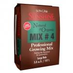 Sunshine Mix # 4 Natural & Organic w/ Mycorrhizae 3.8 cu ft (30/Plt) (714776)