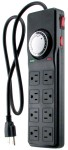 Titan 8 Outlet Power Strip W/Timer (734150)