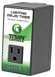 Titan Controls 702690 Hades 1 - 15 Minute Delay Timer Grow Light